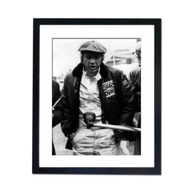 Culture Decor Steve McQueen - Le Mans Framed Photographic Print