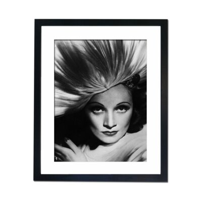 Culture Decor Marline Dietrich Framed Photographic Print
