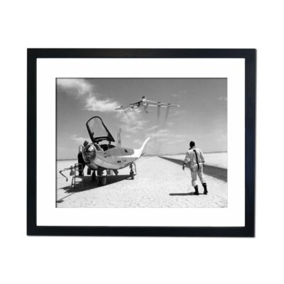 Culture Decor NASA Prototype 1961 Framed Photographic Print