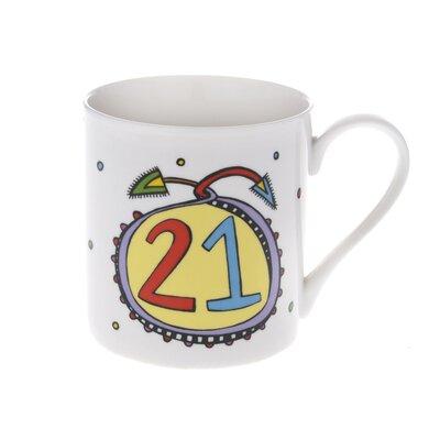 Buttercup of London Celebrations 10cm Fine Bone China 21 Mug
