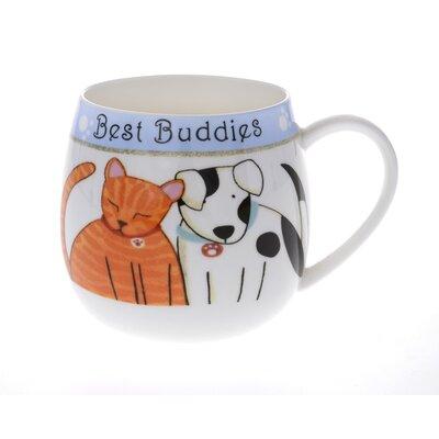 Buttercup of London 10cm Fine Bone China Hug a Best Buddies Mug