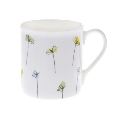 Buttercup of London Mustard and Cress 20cm Bone China Mug