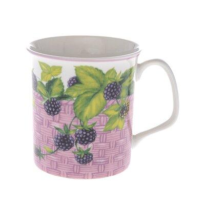Buttercup of London Crown Regal 10cm Fine Bone China Blackberry Fruit Basket Mug