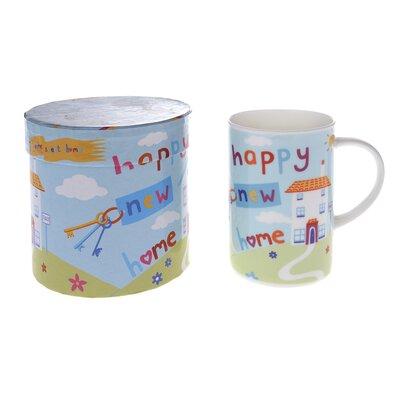 Buttercup of London Celebrations 10cm Fine Bone China New Home Mug