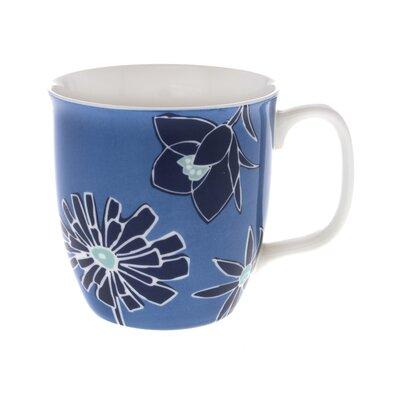 Buttercup of London Celebrations 10cm Fine Bone China Hudson Mug in Blue