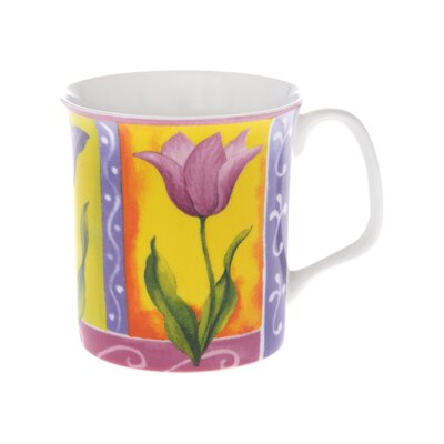 Buttercup of London Crown Regal 10cm Fine Bone China Kate's Flowers Mug