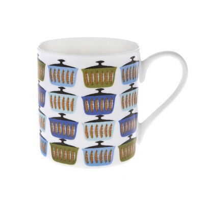 Buttercup of London Scandi 10cm Fine Bone China Casserole Mug