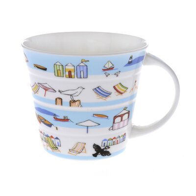 Buttercup of London 10cm Fine Bone China Seaside Mug