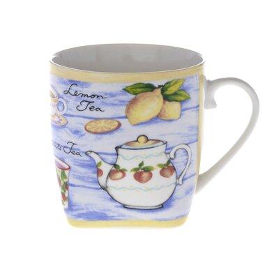 Buttercup of London Crown Regal 10cm Fine Bone China Lemon Tea Mug
