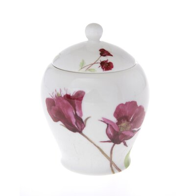 Buttercup of London Leona 20cm Bone China Covered Sugar Bowl in Floral