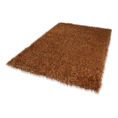 Dekowe Handgewebter Teppich Trendy Corado in Kupfer