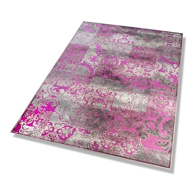 Dekowe Bordürenteppich Nostalgie in Pink