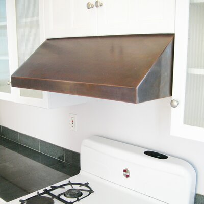 "36"" Vegas 300 CFM Under Cabinet Range Hood Finish: Dark Brown Patina"