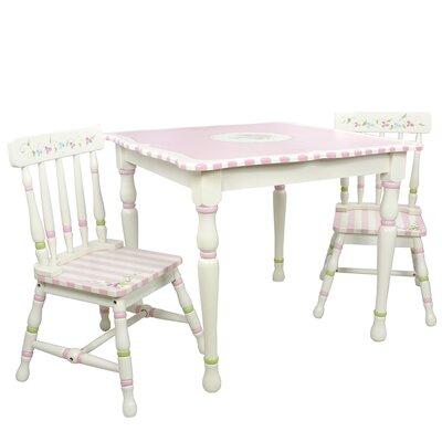 Bouquet 3 Piece Table & Chair Set