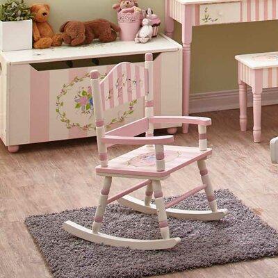 Fantasy Fields Bouquet Small Kids Rocking Chair