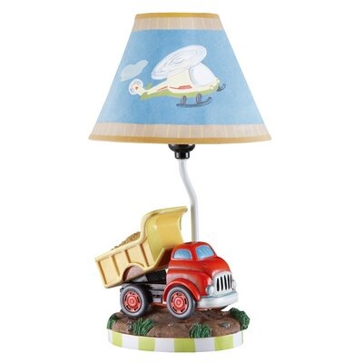 "Fantasy Fields Transportation 16.3"" H Table Lamp with Empire Shade"