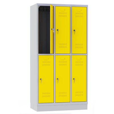 Bakpol s.c. 6 Door Clothes Locker