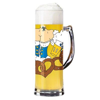 Ritzenhoff Bierkrug Seidel mit Bierdeckeln 0.5 L
