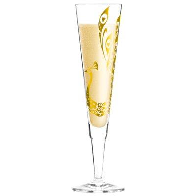Ritzenhoff Champagnerglas Champus mit Stoffserviette 0.2 L