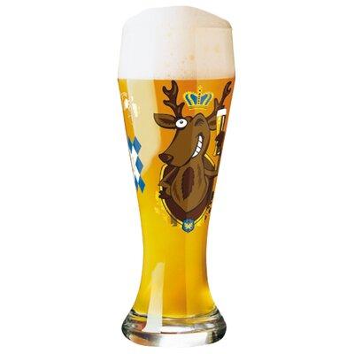 Ritzenhoff Weizenbierglas Weizen mit Bierdeckeln 0.5L