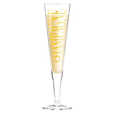 Ritzenhoff 0.2 L Champagnerglas Champus mit Stoffserviette