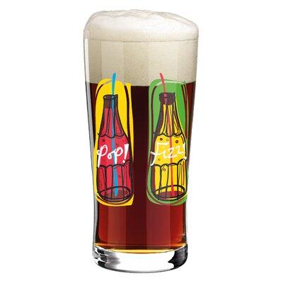 Ritzenhoff 0.4 L Bierglas Beer & More mit Bierdeckeln