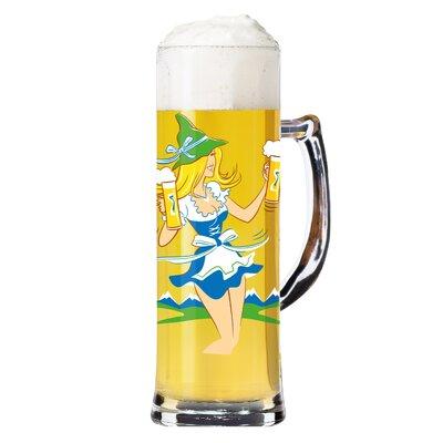 Ritzenhoff 0.5 L Bierkrug Seidel mit Bierdeckeln
