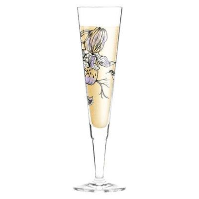 Ritzenhoff 0.2 L Champagnerglas White Label mit Stoffserviette