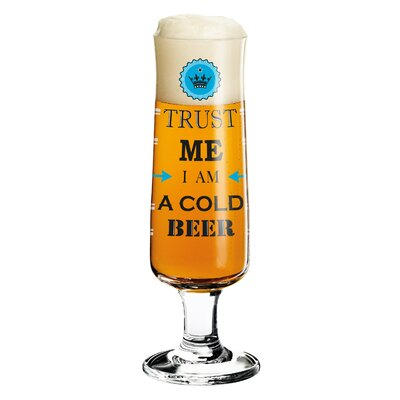 Ritzenhoff 0.3 L Bierglas Beer mit Bierdeckeln