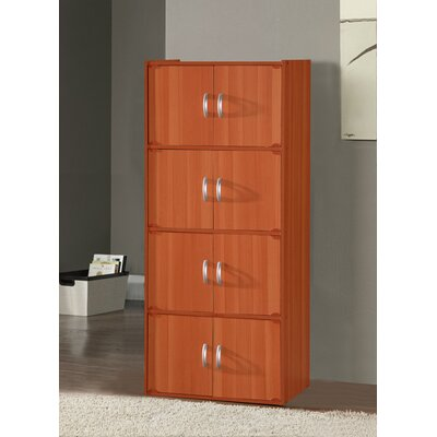 Julianne 8 Door Accent Cabinet Color: Cherry