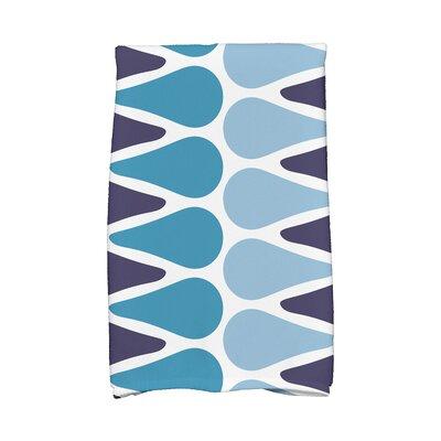 Picks Hand Towel Color: Navy/Light Blue/Aqua
