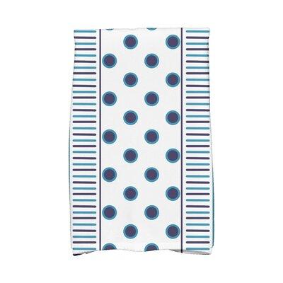Center Hand Towel Color: Navy Blue