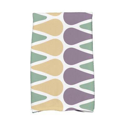 Picks Hand Towel Color: Green/Yellow/Purple