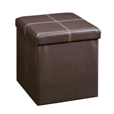 Gerardo Upholstered Storage Cube Ottoman