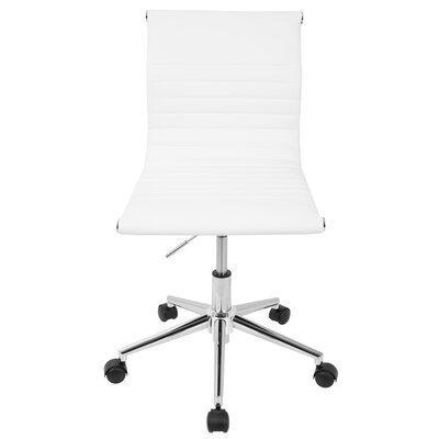 Calveston Office Chair Color: White