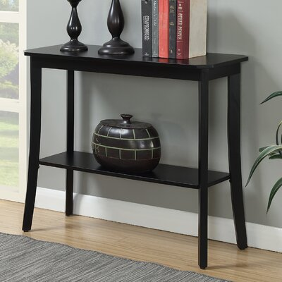 Lockheart Console Table Color: Black