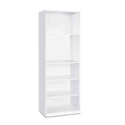 Offutt Standard Bookcase Color: White