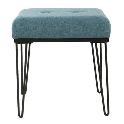 Cavendish Accent Stool Color: Teal