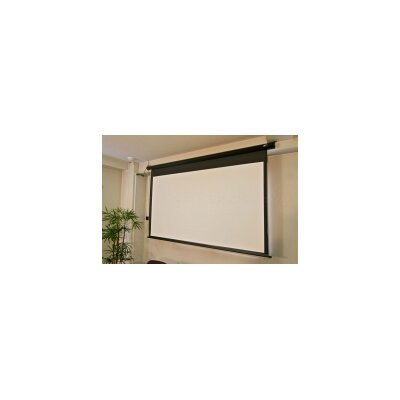 """Spectrum Series MaxWhite Electric Projection Screen Viewing Area: 100"""" diagonal"""