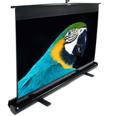 "ezCinema White Portable Projection Screen Viewing Area: 120"" diagonal"