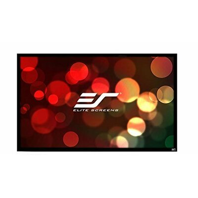 "ezFrame2 White Fixed Frame Projection Screen Viewing Area: 125"" Diagonal"