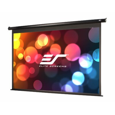 """VMAX2 Series White Electric Projection Screen Viewing Area: 99"""" diagonal"""