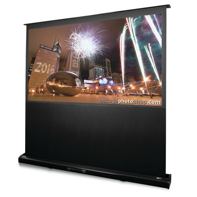 """Kestrel White Electric Projection Screen Viewing Area: 92"""" diagonal"""