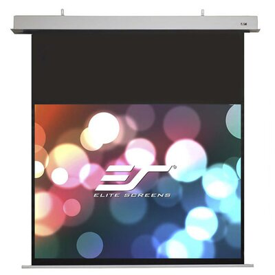 """Evanesce White Electric Projection Screen Viewing Area: 54.9"""" H x 97.6"""" W"""