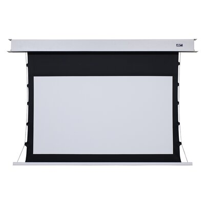 """Evanesce White Electric Projection Screen Viewing Area: 120"""" Diagonal"""