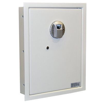 Biometric Lock Wall Safe 0.4 CuFt