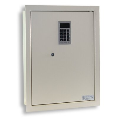 Electronic Lock Wall Safe 0.44 CuFt
