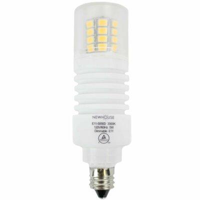 LED Light Bulb Wattage: 5W