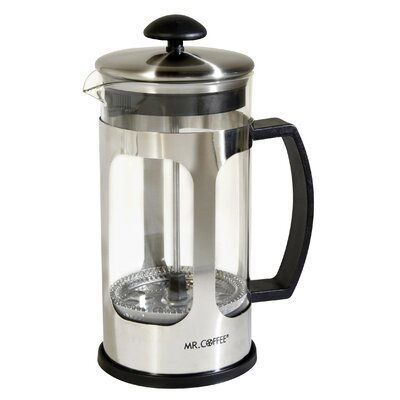 4-Cup Mr Coffee Daily Brew French Press Coffee Maker