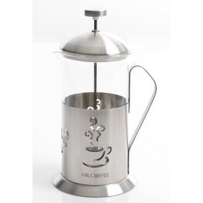 Mr. Coffee Gourmet Brew French Press Coffee Maker